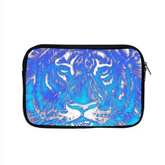 Background Fabric With Tiger Head Pattern Apple Macbook Pro 15  Zipper Case
