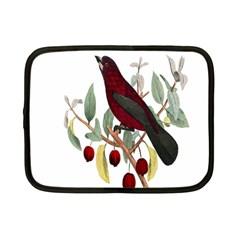 Bird On Branch Illustration Netbook Case (small)