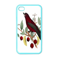 Bird On Branch Illustration Apple Iphone 4 Case (color)