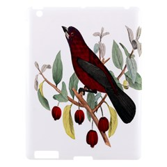 Bird On Branch Illustration Apple Ipad 3/4 Hardshell Case