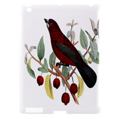 Bird On Branch Illustration Apple Ipad 3/4 Hardshell Case (compatible With Smart Cover)