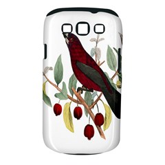 Bird On Branch Illustration Samsung Galaxy S Iii Classic Hardshell Case (pc+silicone)