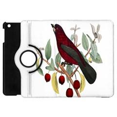 Bird On Branch Illustration Apple Ipad Mini Flip 360 Case