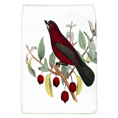 Bird On Branch Illustration Flap Covers (l)