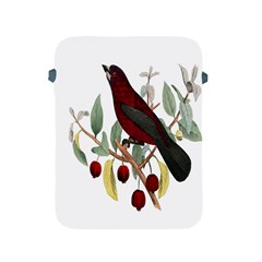Bird On Branch Illustration Apple iPad 2/3/4 Protective Soft Cases