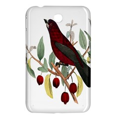 Bird On Branch Illustration Samsung Galaxy Tab 3 (7 ) P3200 Hardshell Case