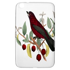 Bird On Branch Illustration Samsung Galaxy Tab 3 (8 ) T3100 Hardshell Case