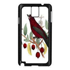 Bird On Branch Illustration Samsung Galaxy Note 3 N9005 Case (black)