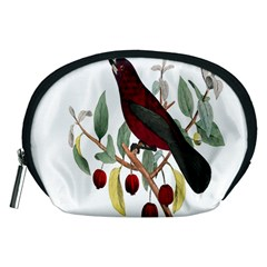 Bird On Branch Illustration Accessory Pouches (medium)