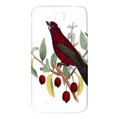 Bird On Branch Illustration Samsung Galaxy Mega I9200 Hardshell Back Case