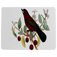 Bird On Branch Illustration Jigsaw Puzzle Photo Stand (Rectangular)
