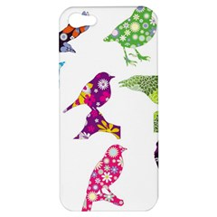 Birds Colorful Floral Funky Apple iPhone 5 Hardshell Case