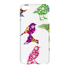 Birds Colorful Floral Funky Apple Ipod Touch 5 Hardshell Case