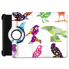 Birds Colorful Floral Funky Kindle Fire Hd 7