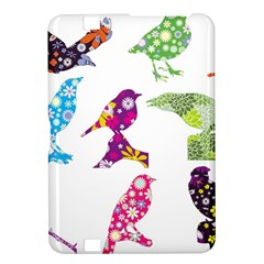 Birds Colorful Floral Funky Kindle Fire Hd 8 9
