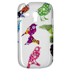 Birds Colorful Floral Funky Galaxy S3 Mini