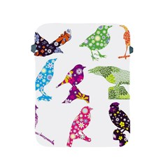 Birds Colorful Floral Funky Apple Ipad 2/3/4 Protective Soft Cases