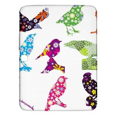 Birds Colorful Floral Funky Samsung Galaxy Tab 3 (10 1 ) P5200 Hardshell Case