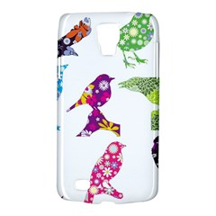 Birds Colorful Floral Funky Galaxy S4 Active