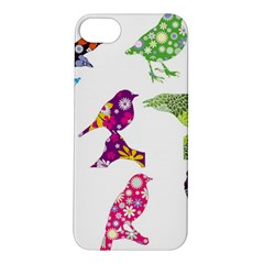 Birds Colorful Floral Funky Apple Iphone 5s/ Se Hardshell Case