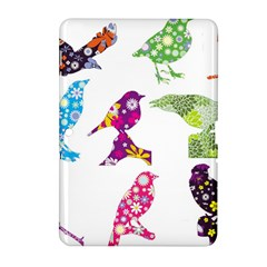 Birds Colorful Floral Funky Samsung Galaxy Tab 2 (10 1 ) P5100 Hardshell Case