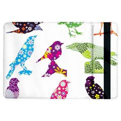 Birds Colorful Floral Funky Ipad Air Flip