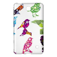 Birds Colorful Floral Funky Samsung Galaxy Tab 4 (7 ) Hardshell Case