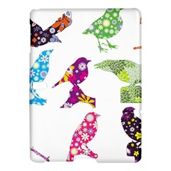 Birds Colorful Floral Funky Samsung Galaxy Tab S (10 5 ) Hardshell Case