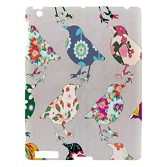 Birds Floral Pattern Wallpaper Apple Ipad 3/4 Hardshell Case