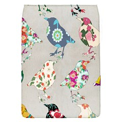Birds Floral Pattern Wallpaper Flap Covers (s)