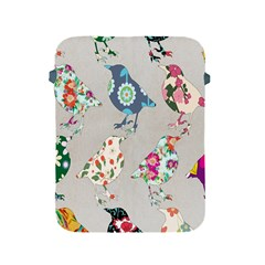 Birds Floral Pattern Wallpaper Apple Ipad 2/3/4 Protective Soft Cases