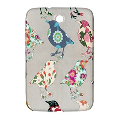 Birds Floral Pattern Wallpaper Samsung Galaxy Note 8 0 N5100 Hardshell Case