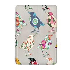 Birds Floral Pattern Wallpaper Samsung Galaxy Tab 2 (10 1 ) P5100 Hardshell Case