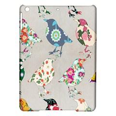 Birds Floral Pattern Wallpaper Ipad Air Hardshell Cases