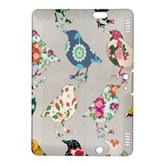 Birds Floral Pattern Wallpaper Kindle Fire Hdx 8 9  Hardshell Case