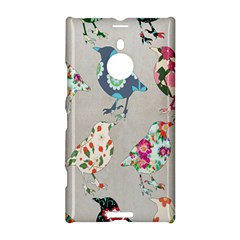 Birds Floral Pattern Wallpaper Nokia Lumia 1520