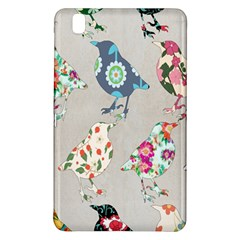 Birds Floral Pattern Wallpaper Samsung Galaxy Tab Pro 8 4 Hardshell Case