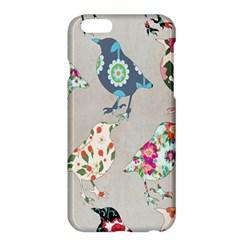 Birds Floral Pattern Wallpaper Apple Iphone 6 Plus/6s Plus Hardshell Case