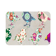 Birds Floral Pattern Wallpaper Double Sided Flano Blanket (mini)