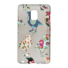 Birds Floral Pattern Wallpaper Galaxy Note Edge