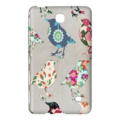 Birds Floral Pattern Wallpaper Samsung Galaxy Tab 4 (7 ) Hardshell Case