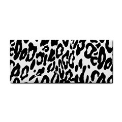 Black And White Leopard Skin Cosmetic Storage Cases