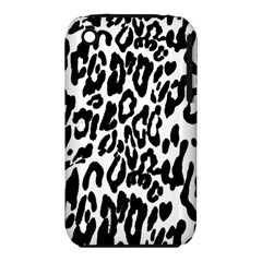 Black And White Leopard Skin Iphone 3s/3gs