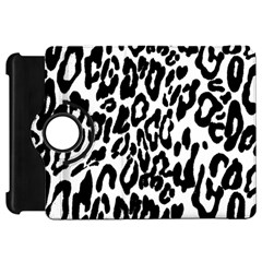 Black And White Leopard Skin Kindle Fire Hd 7