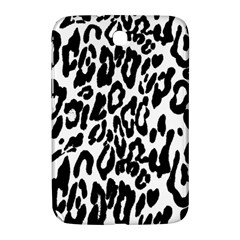 Black And White Leopard Skin Samsung Galaxy Note 8.0 N5100 Hardshell Case