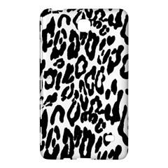 Black And White Leopard Skin Samsung Galaxy Tab 4 (7 ) Hardshell Case