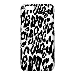Black And White Leopard Skin iPhone 6/6S TPU Case