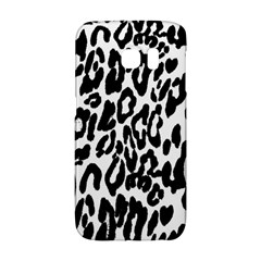 Black And White Leopard Skin Galaxy S6 Edge