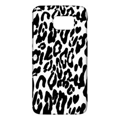 Black And White Leopard Skin Galaxy S6