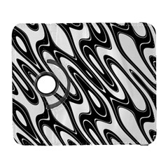 Black And White Wave Abstract Galaxy S3 (flip/folio)